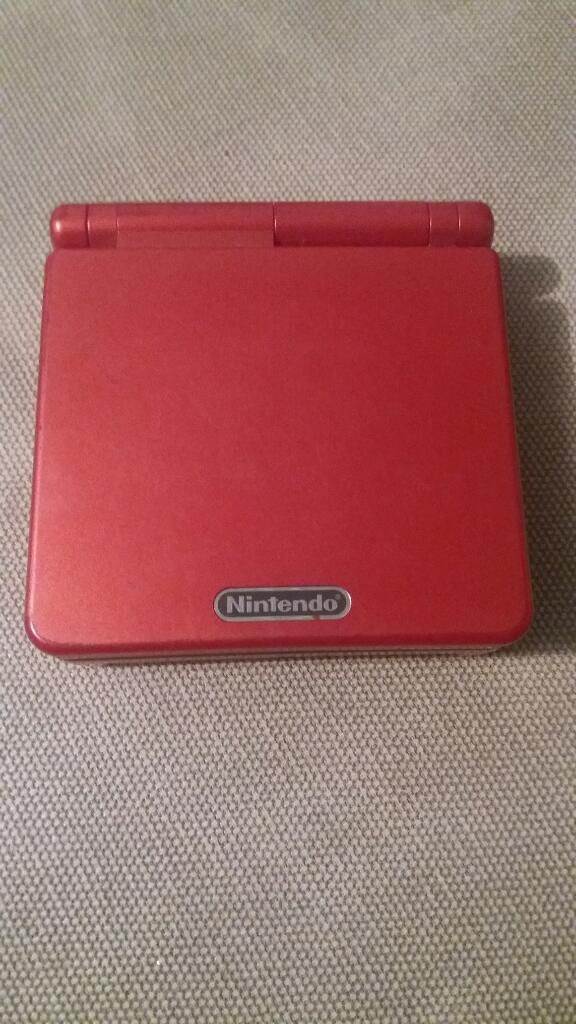Game Boy Advance Sp. Nintendo