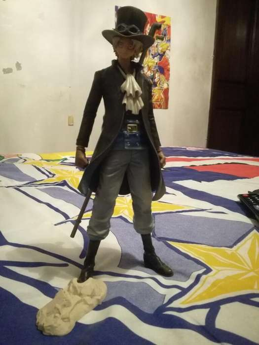 Figura de anime One Piece de Sabo marca Banpresto
