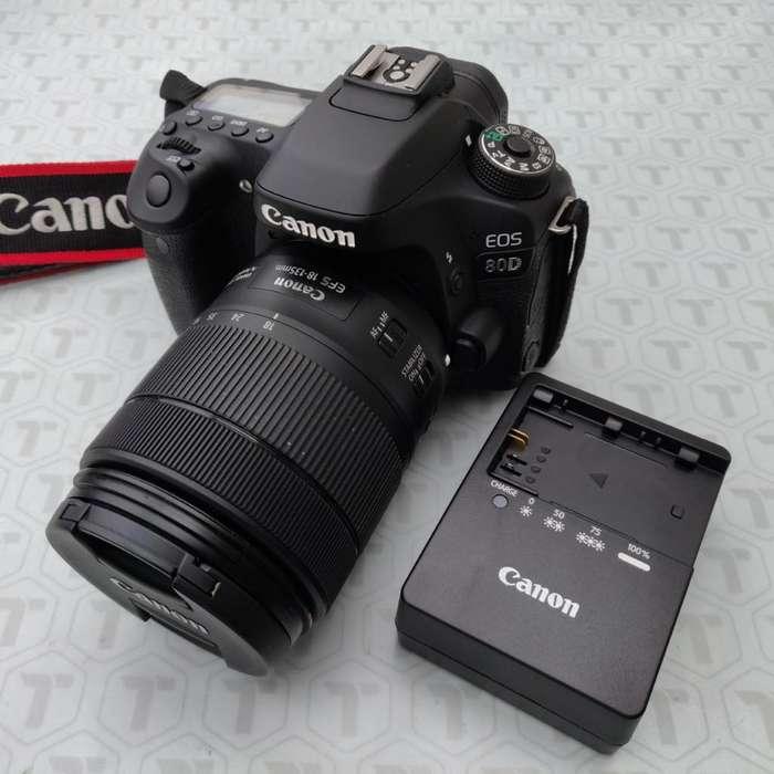 Canon EOS 80d 24.2 Mp Cámara <strong>digital</strong> SLR con EFS 18 135 magnifico estado!