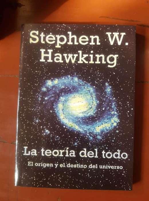 Libro La Teoría Del Todo Stephen Hawking