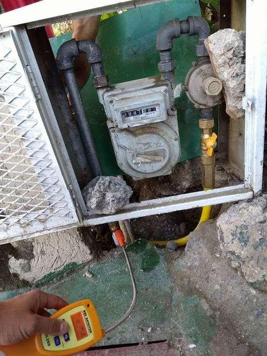 servicio en redes de gas natural profesionales