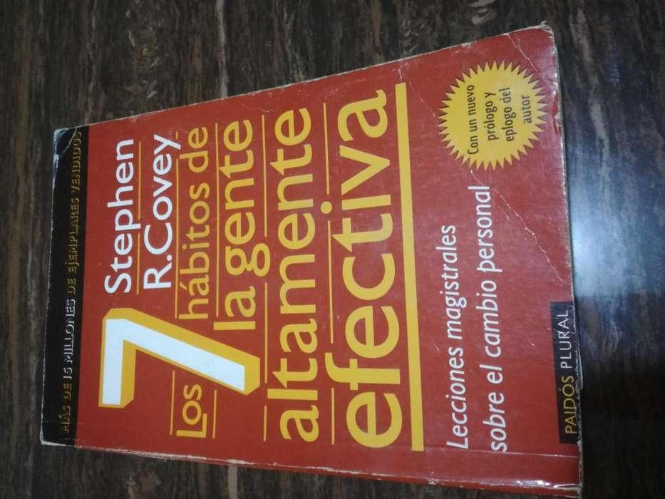 Libro Los 7 hábitos de la gente altamente efectiva de Stephen R. Covey