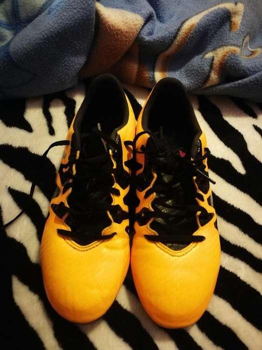 Vendo Botines Adidas X15.3 Num 37