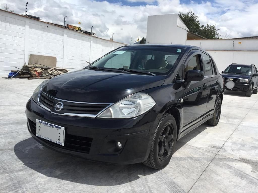 Nissan Tiida 1.6 TM Full año 2012 Flamante