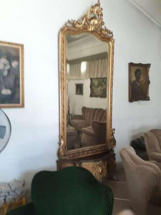 Espejo Isabelino Francés