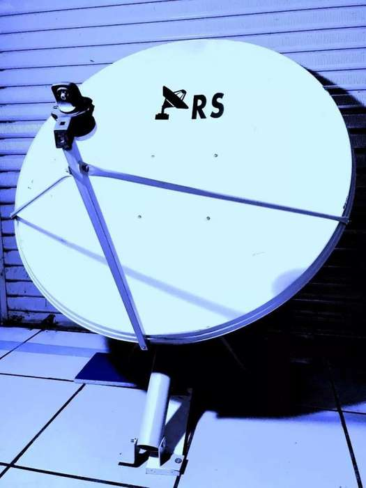 Antena Parabólica Satelital 120 Cm