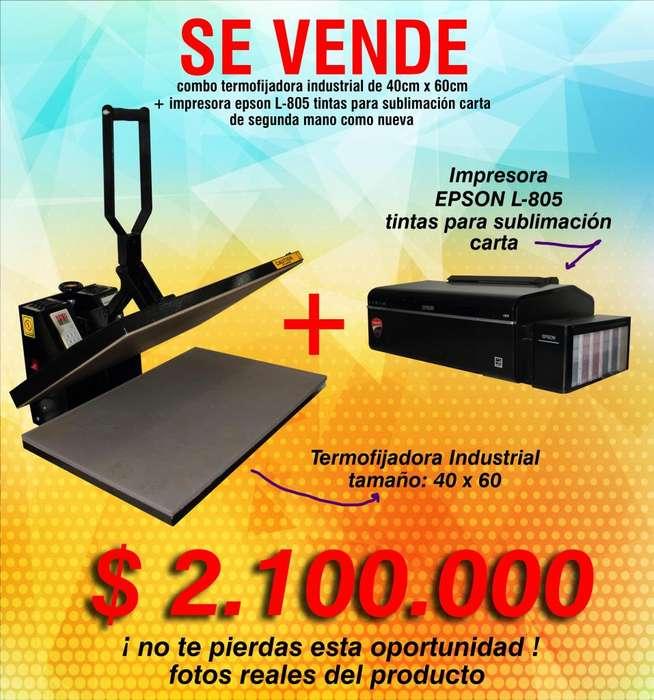 Termofijadora Industrial Impresora sublimación
