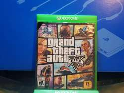 Video Juego Xbo One Gta V Impecable