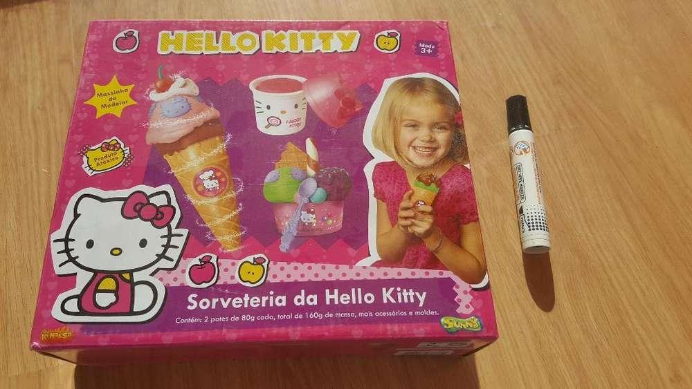 Hello Kitty. Heladeria en Casa de Masas