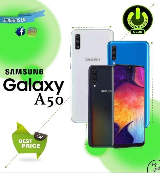 Samsung A50 Triple <strong>camara</strong> 25/8/5 Megapixeles / Tienda física Centro de Trujillo / Celulares sellados Garantia 12 Meses