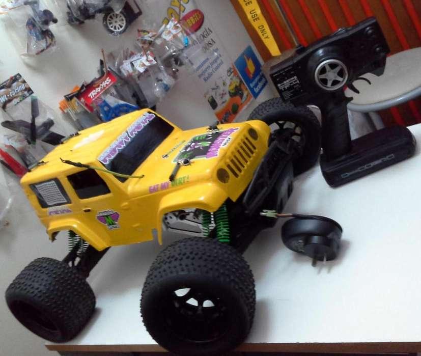 eep Rc Hpi Savage 4x4 Motor Nitro Trarckstar - Muy Bueno!!