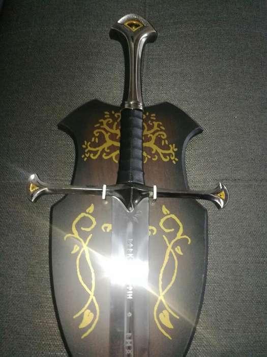 Espada Aragorn Anduril Narzil Lotr
