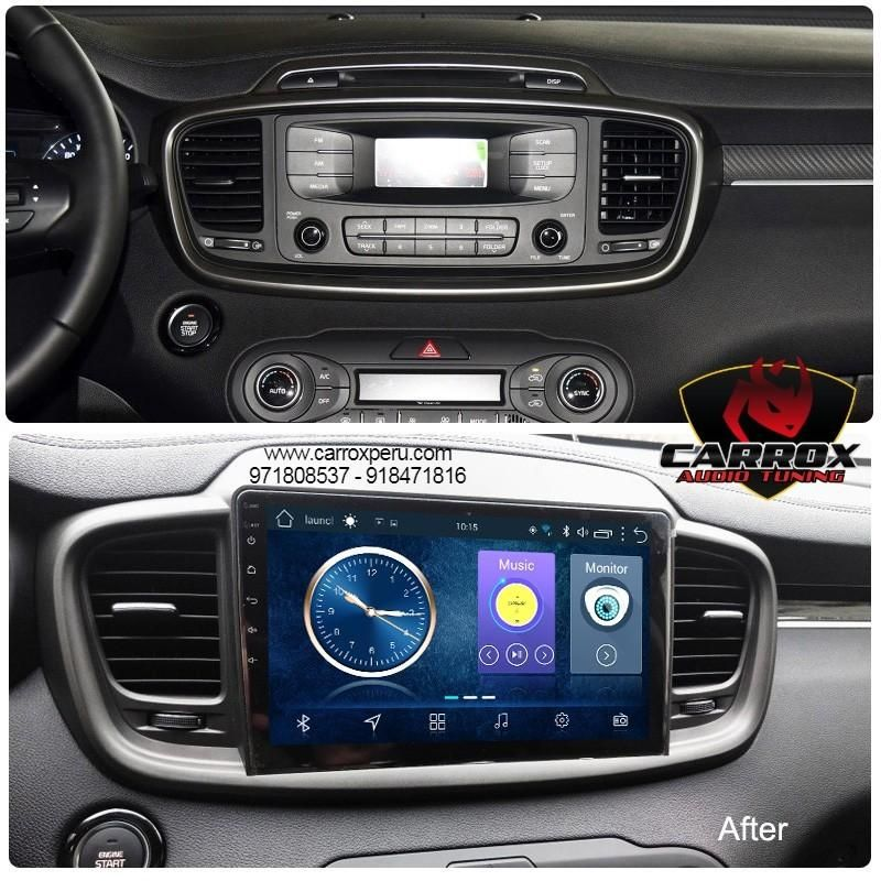 YOUTUBE SPOTIFY WIFI ANDROID KIA SORENTO 2015 2018 BLUETOOTH GPS AUTORADIO OPCION CAMARA DE RETROCESO