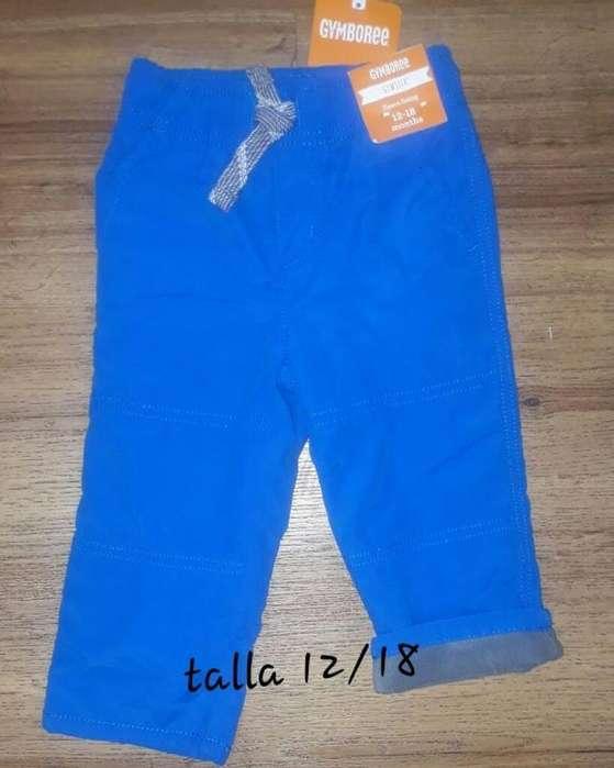 Pantalón de Niño Azul Gymboree 612 Mese