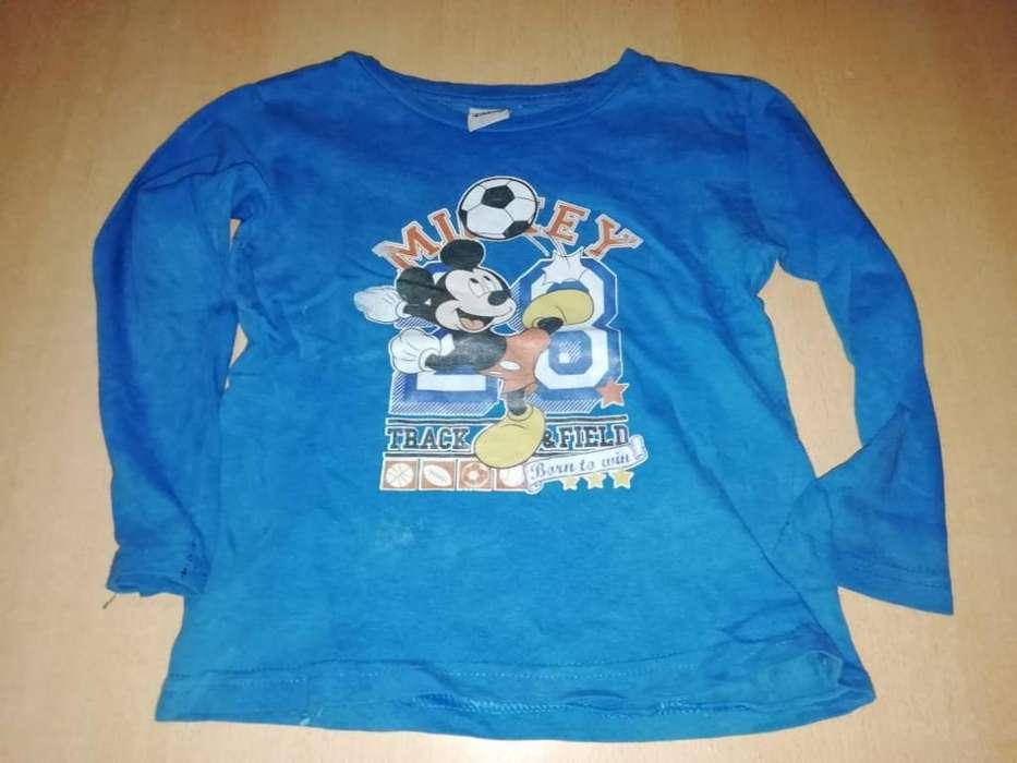 3 Camisetas Talle 2