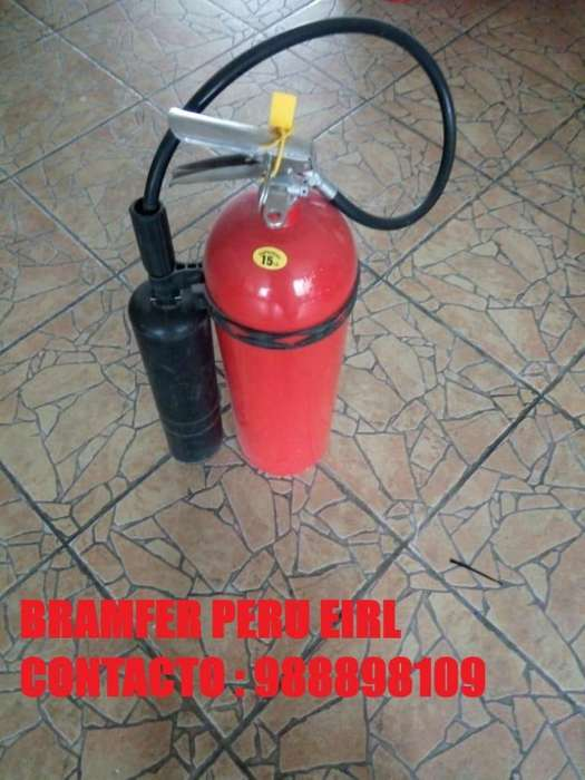 Extintores PQS-ABC envíos a Provincias con Certificado de Garantía y Operatividad