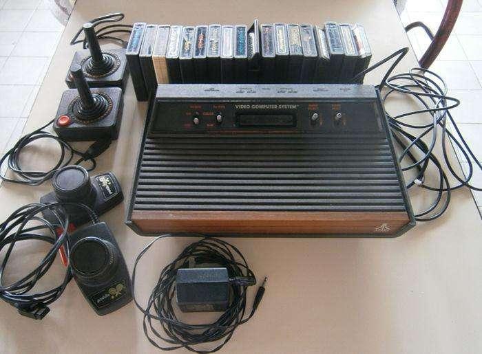 Consola <strong>atari</strong> Cx 2600 Video Computer 1978