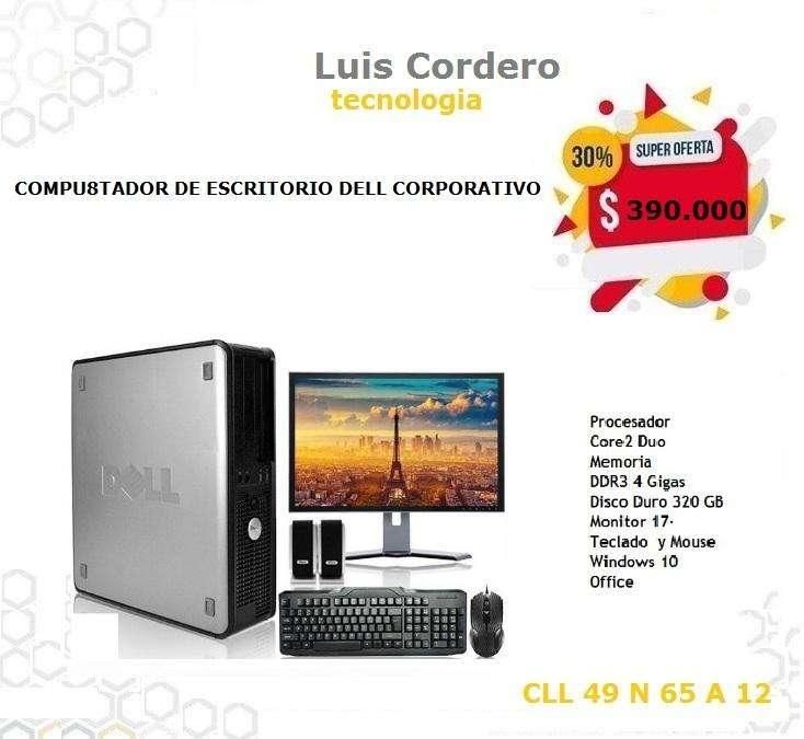 COMPUTADOR DE ESCRITORIO DELL CORPORATIVO