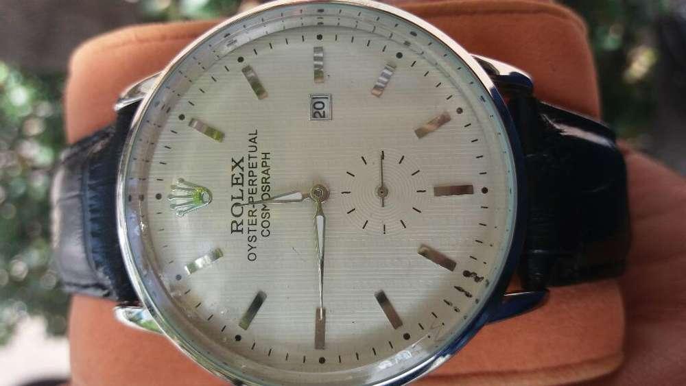 Reloj <strong>rolex</strong> (correa de Cuero)