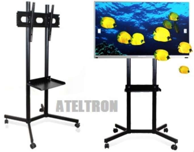 Soportes bases Tv led lcd pedestal presentaciones educativas empresariales eventos en general.