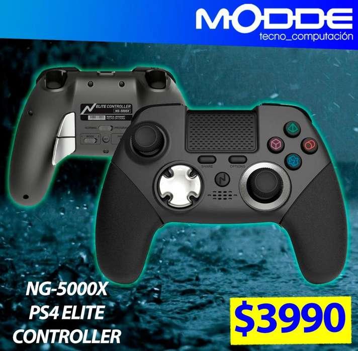 Joystick Ps4 Elite Controller - NG-5000X // MODDE TECNO