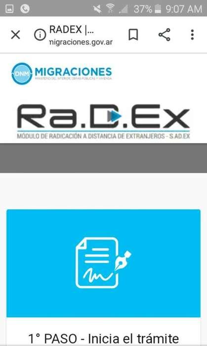Asesoro Tramite de La Pagina Radex