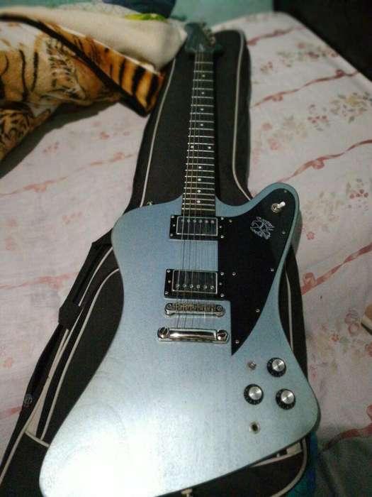 Guitarra Epiphone Fire Bird Blue