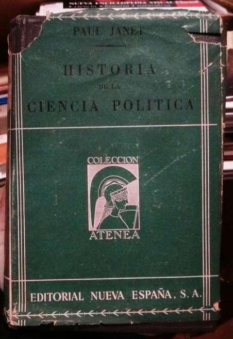 Historia de La Ciencia Politica