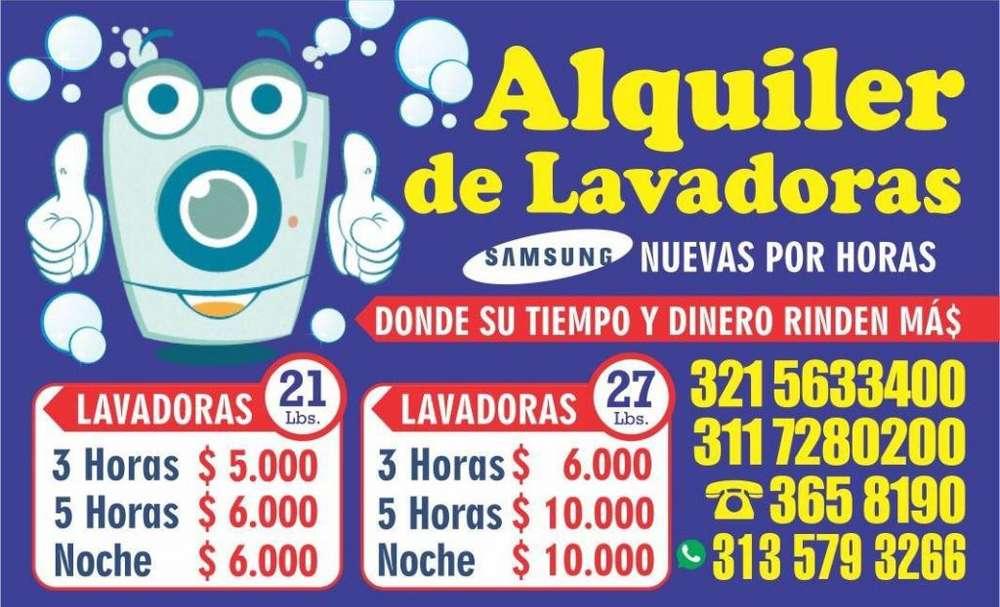 ALQUILER DE LAVADORAS SAMSUNG ...