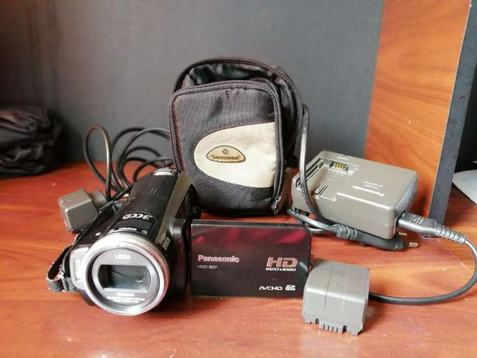 Filmadora Panasonic Full Hd Perfecto Est