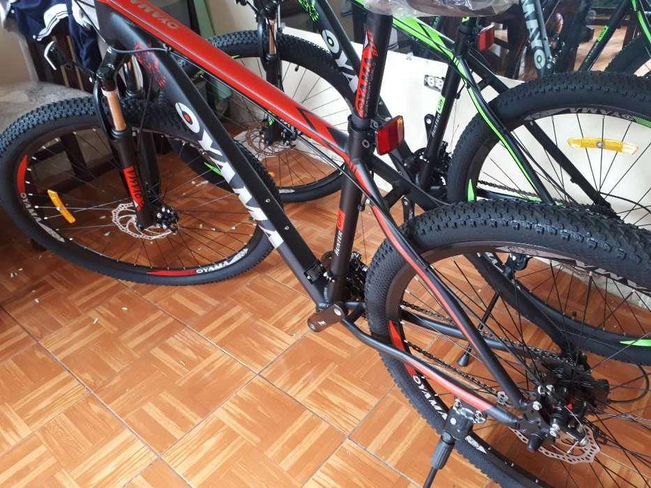 Bicicleta Aro 29 de Aluminio 24v.