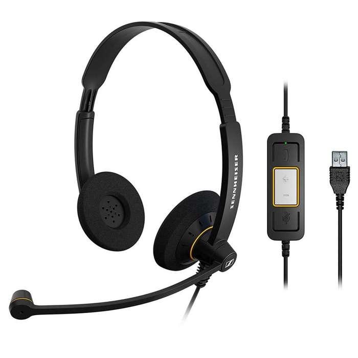 Sennheiser 504547 Culture Series Wideband Headset (sc60-usb Diadema para Lync