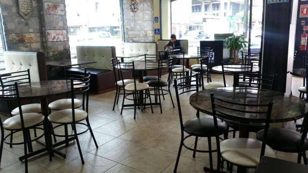 Vendo menaje de restaurante y panaderia