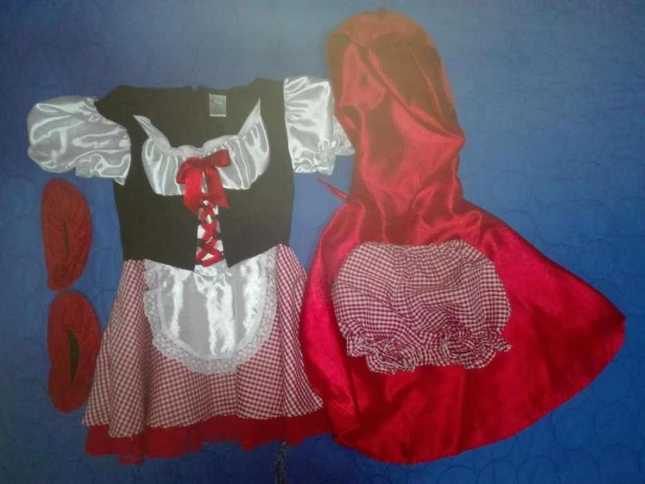 Disfraz de Caperucita Roja en Venta Talla 6