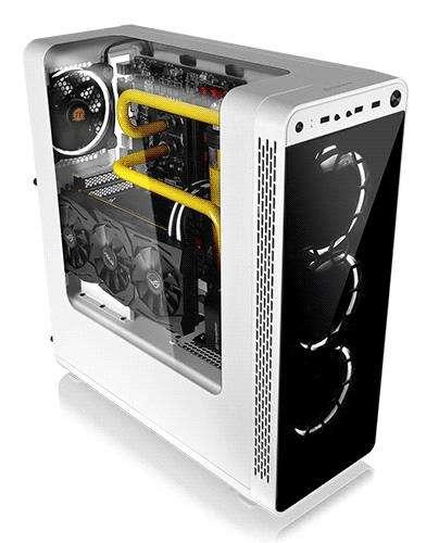Pc Full Gamer Ryzen R5 1500x Ati RX570 4Gb 8Gb/DDr4 120Gb_Ssd/1Tb Kit Tt Ring