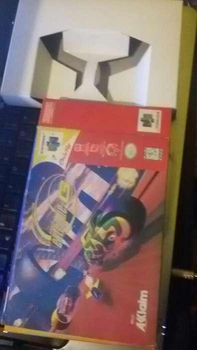 Caja de Juego Nintendo 64