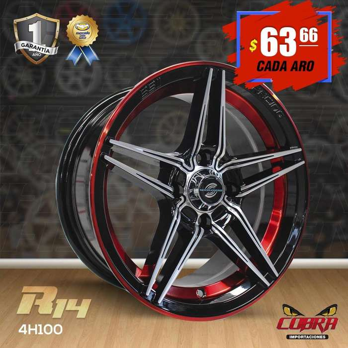 Aro Rin 14 4h100 Chevrolet Aveo Chevrolet Spark San Remo Nissan S