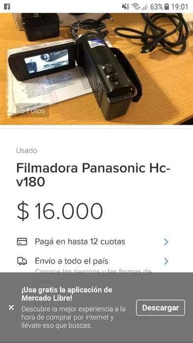 Cámara Filmadora Hd Panasonic