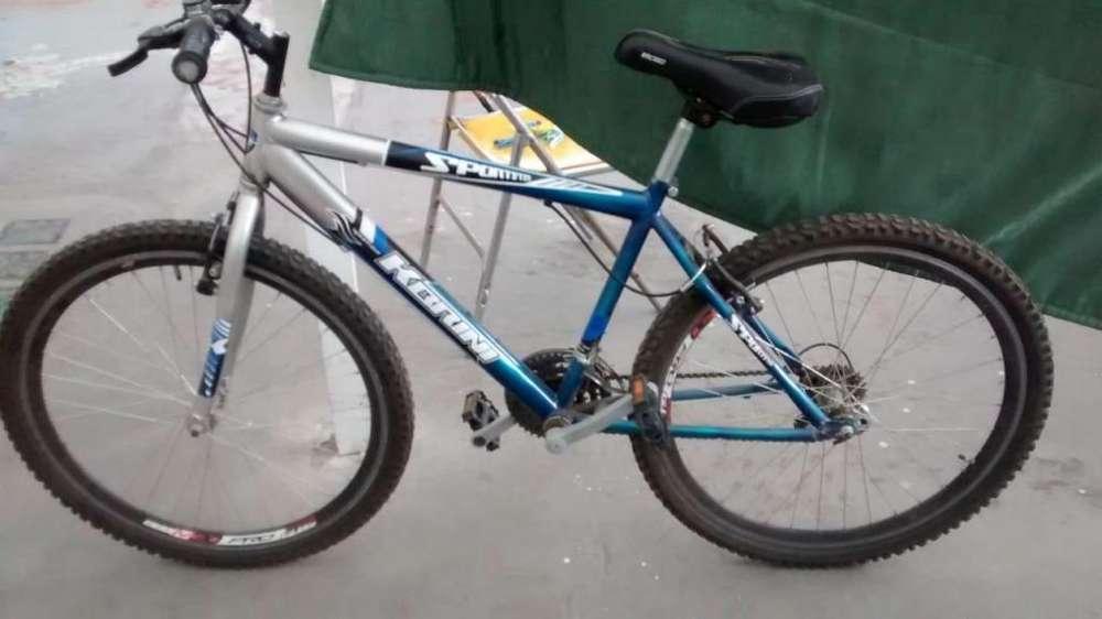 Se vende bicicleta en excelente estado