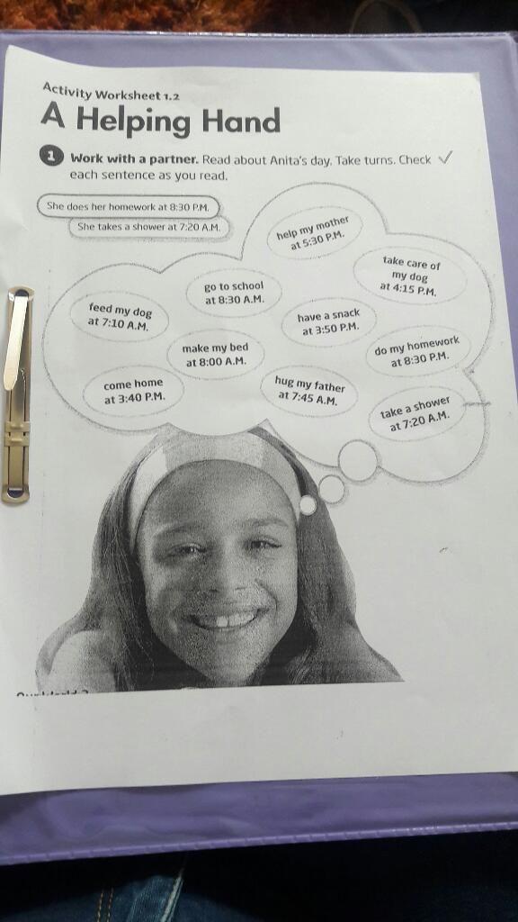 Estudiante de Parvulos Bilingue