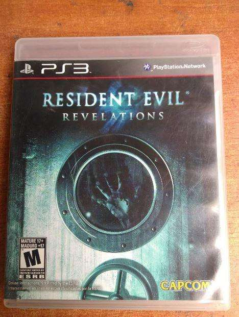 Resident Evil Revelations PS3 juegos