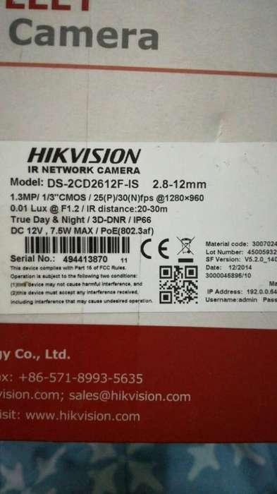 Camara Ip Hikvision Nueva