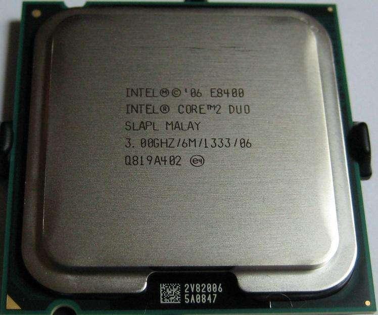 Procesador Intel Core 2 Duo E8500 3,0 ghz, 6mb caché, socket 775 para pc con garantía