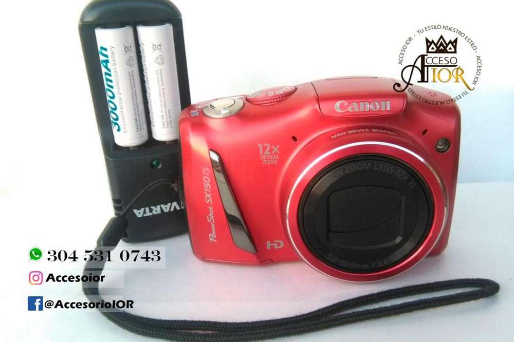 Camara Digital Canon Sx150 Is