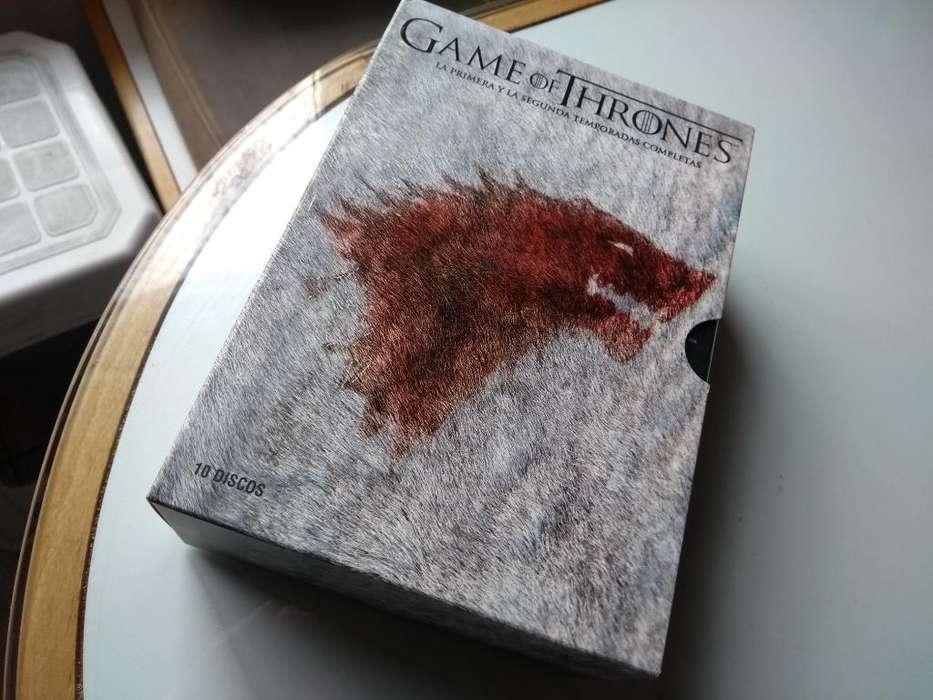 Game Of Thrones <strong>dvd</strong> 1 Y 2 Temporadas