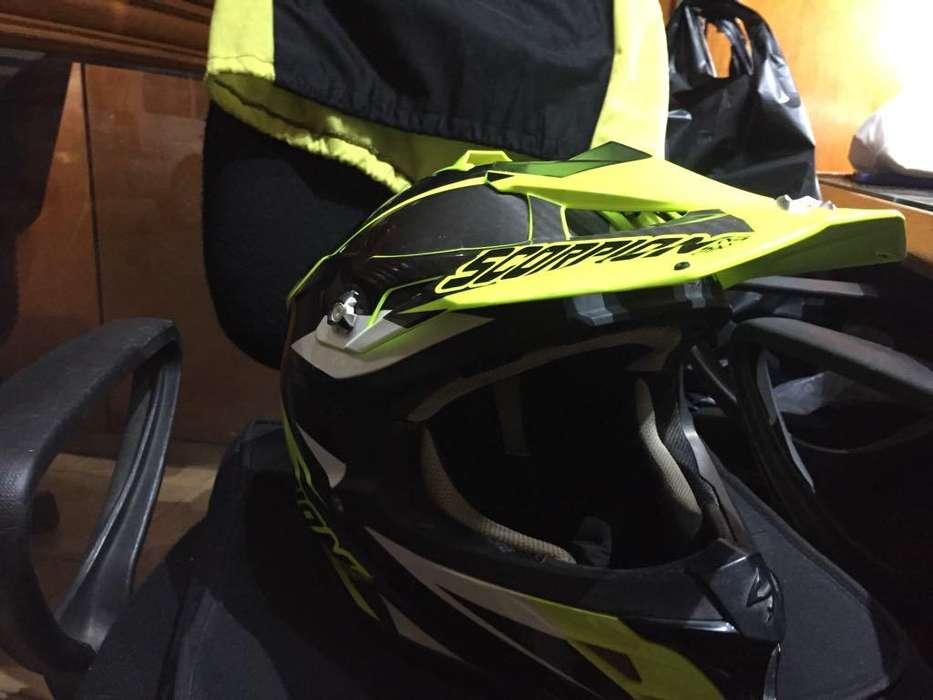 Casco Motocross Scorpion