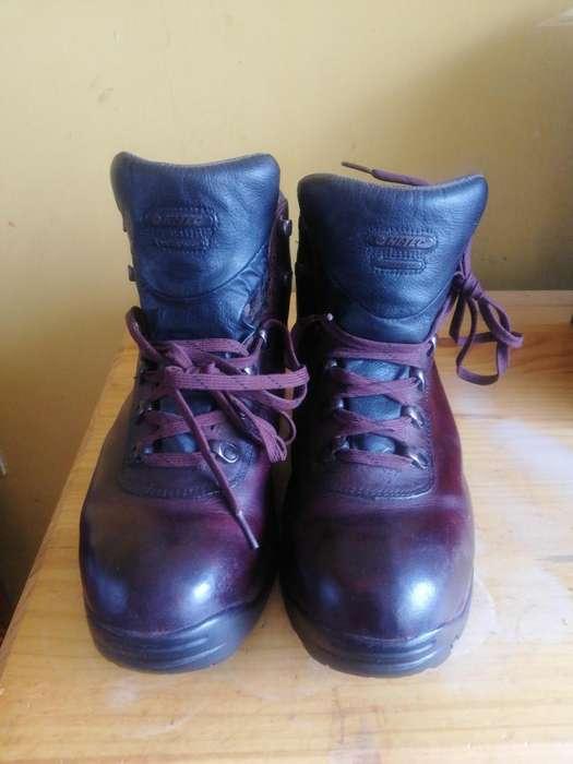 Zapato zapatilla HiTec Waterproof con planta Carbn Rubber talla 43
