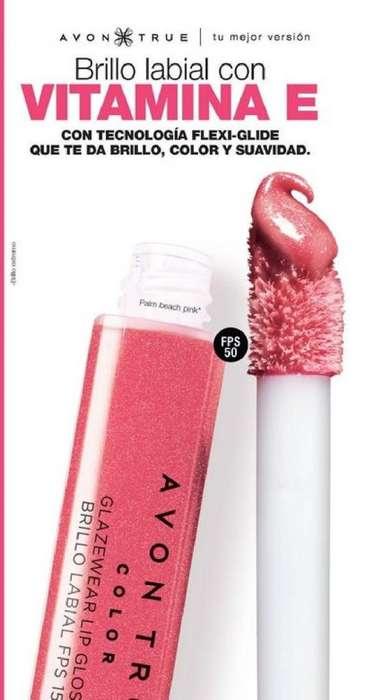 bb90db239a Brillo labial de larga duración color rosado