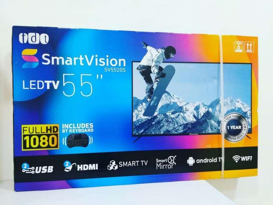 <strong>televisor</strong> Smartv Marca Smartivision 55''