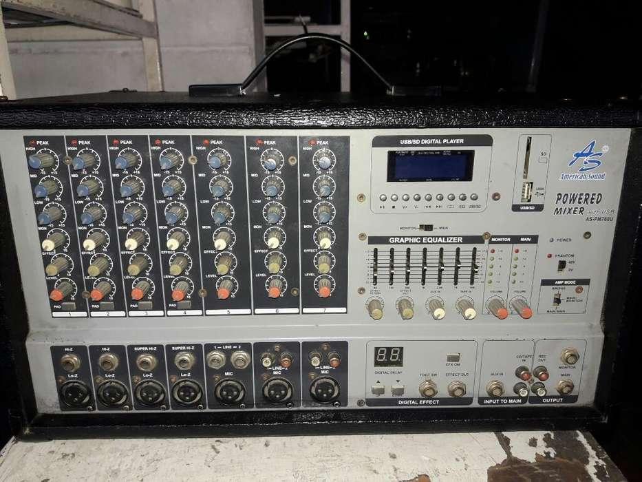 Amplificador American Sound de 7 Salidas